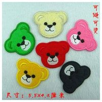 animated badges - Size x cm bear animated cartoon iron on patches Sew on Patches Applique Badge dropship