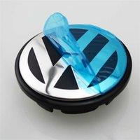 Wholesale 4x mm VW wheel center caps cover Volkswagen Hub Cap Logo EOS Golf Jetta Mk5 Passat B6 VW B7