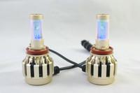 Wholesale 2015 New LED Car Headlight LED Headlamps Ultra Bright Auto LED Headlight Lamps W V V DC IP65 H7 H11 H1