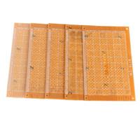 Wholesale New x15cm Prototype Paper Boards PCB Blank Printed Circuit Board DIY