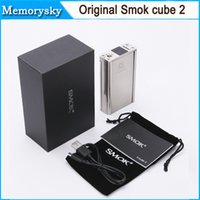 Wholesale Smok X Cube II w box mod Xcube temperature control smok x cube II mod VS M80 plus IPV3 Li IPV4 Original In stock
