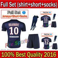 pink jersey - PSG home blue Soccer Jersey Short socks Kits for Season psg Uniforms Football Jerseys able custom with pink fonts psg black kits