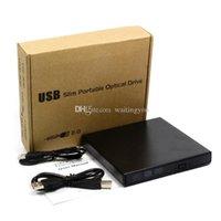 Wholesale Factory Price USB Portable External Slim DVD CD RW Burner Recorder Optical Drive CD DVD ROM Combo Writer x For Computer waitingyou