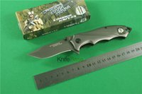 Wholesale Strider folding knives HRC blade steel handle knives camping tools