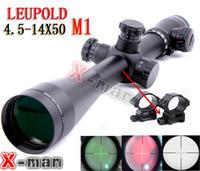 rifle scope - 2014 NEW Leupold Mark4 X50 M1 Mil dot Illuminated Riflescopes Rifle Scope Hunting Scope w Mounts