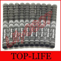 Wholesale MIDsize Multi Compound Golf Grips For Golf Driver Wedge Set Golf Clubs Midsize Grips Colors On stock