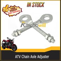 Wholesale Chain Axle Adjuster Fits cc cc cc cc cc ATV Dirt Bike Quad Go Kart TAOTAO Buyang Coolsport Kazuma SUNL ROKETA