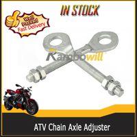motorcycle chain adjuster - Motorcycle Chain Axle Adjuster Fits cc cc cc cc cc ATV Dirt Bike Quad Go Kart TAOTAO Buyang Coolsport Kazuma SUNL ROKETA