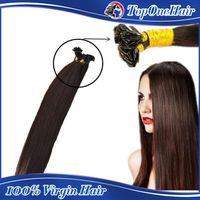 Cheap pre bonded human hair extensions Best pre bonded flat tip hair