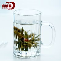 Wholesale Glass Green Apple product is still hot cup of tea cup with the cup office cup Household