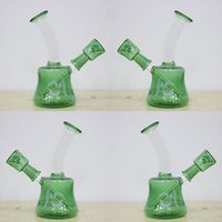 dhgate - In Stock Chinese High Quality Glass Smoking Water Pipes With Logo HS Bowl Recyler Oil Rigs Dhgate Cheap Hot Sale Mini Glass Hookahs Bong
