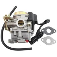 Wholesale GOOFIT24mm carburetor mm air filter motorcycle carburetor GY6 cc cc cc Stroke Scooter Moped ATV Group order lt no track