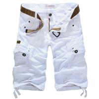 big mens cargo shorts - Cargo Shorts Men casual mens shorts casual mens cargo shorts colors khaki army green Military Shorts big size