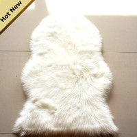 animal fur rugs - CR22 Luxury Shaggy Rug Animal Faux Fur Carpet Sheepskin Rugs Floor Mat Super Soft Rug Bed spread Chair Cover Seat Pad fluffy