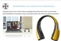 Wholesale Bluetooth Earphone Tone Neckbands Wireless Stereo Earphones Bluetooth CSR4 Sport Headphone Headset HBS in stock