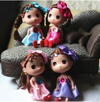 baby head phones - 12CM Hard Head Confused Doll with Head Flower Girl Toys Phone Handbags Pendant Small Baby Gifts for Girls Toy Christmas Gifts G0256 DHL