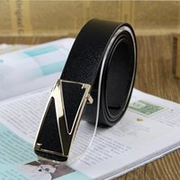 Wholesale Blt0014 Fashion Belt cm Length Single deck Top Quality Genuine Leather Alloy Smooth Buckle All match Belts