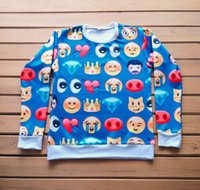 autumn fashion tumblr - w1217 Women Men Unisex D Crewneck Iphone Emoji Face Tumblr Ipod Sweatshirt Cartoon Green Spring Autumn Sweats Outfit Pullover Tops