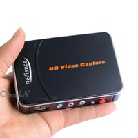 achat en gros de vidéos modifier-Nouveau Ezcap 1080P HD Vidéo Capture Capture Recorder Box pour XBOX One 360 PS3 WII U + Professional Edition Logiciel YPbPr Enregistreur VC002H-Z35