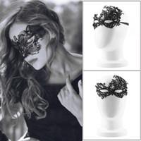 fancy dress sexy - New Design Women Costume Eye Mask Sexy Lace Eye Mask Venetian Masquerade Ball Halloween Fancy Dress Costume