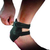 achilles support brace - New Black Sports Elastic Ankle Support Brace Wrap Ankle Brace Support Pad Guard Achilles Tendon Sports Strap Foot