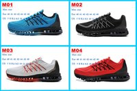 athletic sporting online - 2015 Hot Sale Max Running Shoes Sports Shoes Outdoor Sneakers Athletics Air Shoes Online mens Sneakers Training Shoes