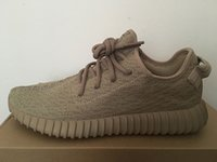 Cheap wholesale 2016 1:1 Kanye west oxford tan Yeezy Boost 350 Classic YEEZE Running Men's Fashion Sneaker Shoes With Box Free Shipping