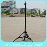 wig stand - Top Quality Hairdressing Training Head Mold Mannequin Holder Salon Hair Clamp Wig Stands Adjustable Tripod Stand Holder