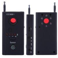 Wholesale DBPOWER CC308 Multi Wireless Camera Lens Detector Radio Wave Signal Detect HiddenCamera Full range WiFi RF GSM Device Finder