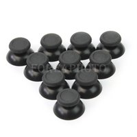 Cable ued  Black 10x Joystick Thumb Stick Button Accessory for PlayStation 4 PS4 Controller