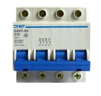 Wholesale DZ47 P A mcb switch miniature circuit breaker C10