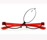 Wholesale Women Eye Makeup Magnifying Reading Glasses Lens Flip up Case make up glass to