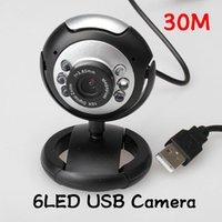 Wholesale 1PCS Webcam Web Mega M USB LED Network Camera For Laptop Computer New Gucee ST1