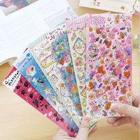 Wholesale New Zakka Japan D Fairy Tale series Epoxy sticker scrapbooking sticker pack hot selling deco packing stickers