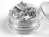 acrylic flakes - So Beauty Bottles Gold Silver Foil Paillette Flake Nail Art DIY Decoration Acrylic UV Gel