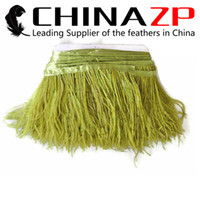 best cheap costumes - Leading Supplier CHINAZP Crafts Factory yards cm inch Width Cheap Best Quality Dyed Olive Green Ostrich Feathers Trim