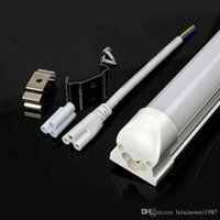Wholesale PVC Plastic LED Tube T8 Light VLED Wall Lamp Cold White LED Fluorescent T5 Neon LED T5 lamp