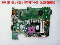 Wholesale DA00P6MB6D0 for HP CQ61 G61 Laptop motherboard DDR2 GL40 Fully tested