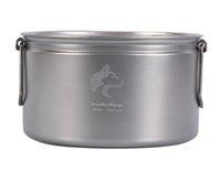 big cooking pots - Boundless Voyage ml Big Titanium Pot Cooking Pot Picnic Cookware Only g Ti508B