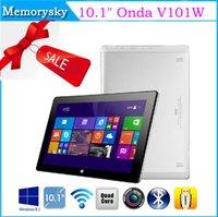 Under $300 onda wifi - 10 quot Onda V101W Tablets PC Windows Intel Z3735 Quad Core GHz GB DDR3L GB eMMC OTG HDMI Dual Camera Best Xmas Gift