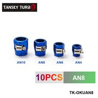 Wholesale TANSKY High Quality AN8 Fuel Oil Water Tube Hose Fittings Finisher Clamps mm have in stock TK OKUAN8