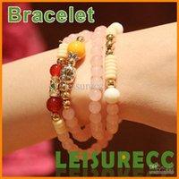 Cheap Natural citrine bracelet rose quartz jewelry Emmanuel Buddha transporter multilayer bracelet ZB0176