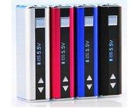Wholesale 100 Authentic Eleaf iSmoka Mini Eleaf istick W W W W W W W Mod variable wattage voltage Battery istick E Cigarette Battery