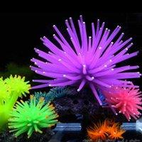 Wholesale DIY Silicone Aquarium Fish Tank Decor Artificial Coral Plant Underwater Ornament Decoration