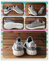 Cheap New Product Boys And Girls kanye Yeezy Boost 350 Boost Low Sneakers Running Shoes Grey outdoor Children Youth Kids 2016 fasion Basketball