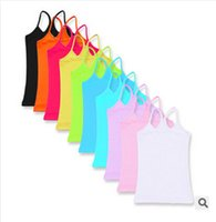 baby girl tees - 10 colors candy color kids children s girls summer clothing baby girls sleeveless t shirts tank tops girl tees children s t shirts