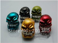 Wholesale Personality environmental protection crystal glue gear wave skull car modification gear car head gear