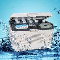 Cheap GPS 12l double mini refrigerator car insulin household dual-use refrigerator refrigerated cabinet