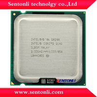 Wholesale Q8200 Original Intel Core2 QUAD Q8200 CPU GHz LGA775 MB Cache Quad CORE Quad Thread FSB nm W HOT SALE