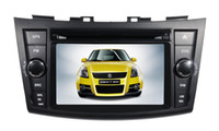 mp3 mp4 touchscreen - Car DVD Player GPS Navigator Stereo Multimedia with Touchscreen Monitor Support Bluetooth for Suzuki New Swift
